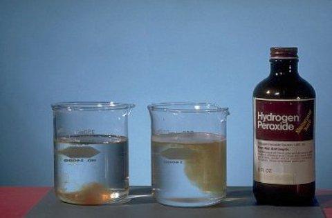 Как применять перекись водорода