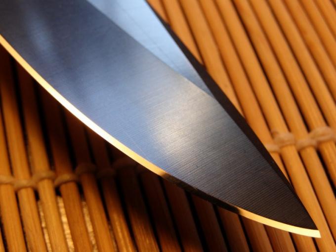 Как точить охотничьи ножики