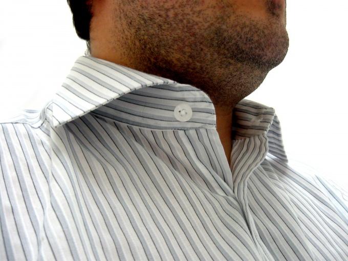 Накрахмаленная одежда смотрится роскошно